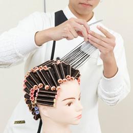 美容師国家試験実技試験 第2課題発表