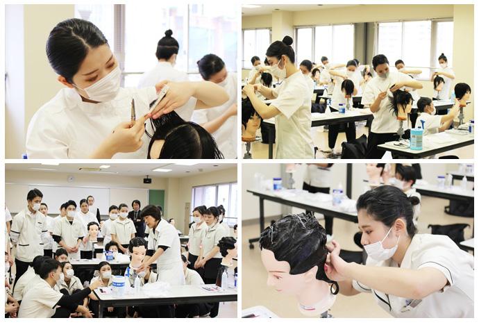 美容師国家試験対策 模擬試験を実施しました!
